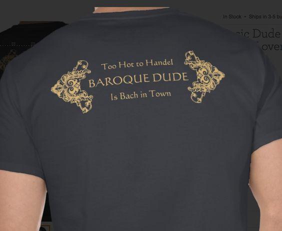 Nerdy classical music T-shirt