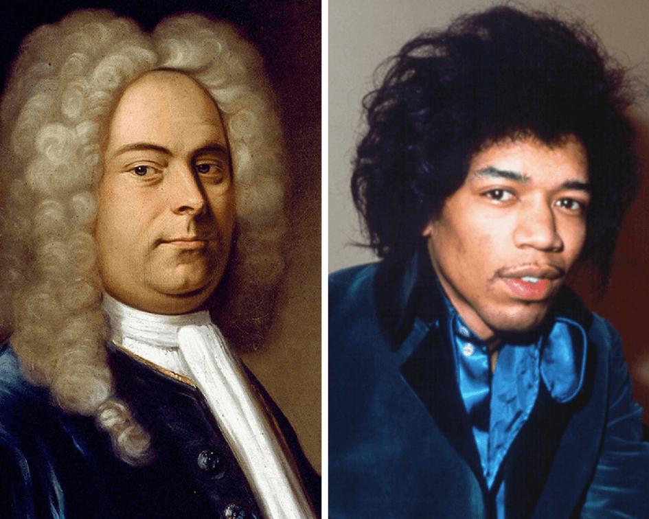 Handel and Hendrix museum stars