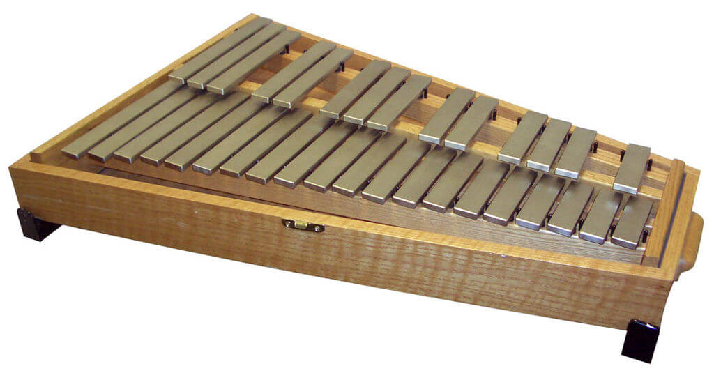 Glockenspiel, used in David Lang's The Little Match Girl passion