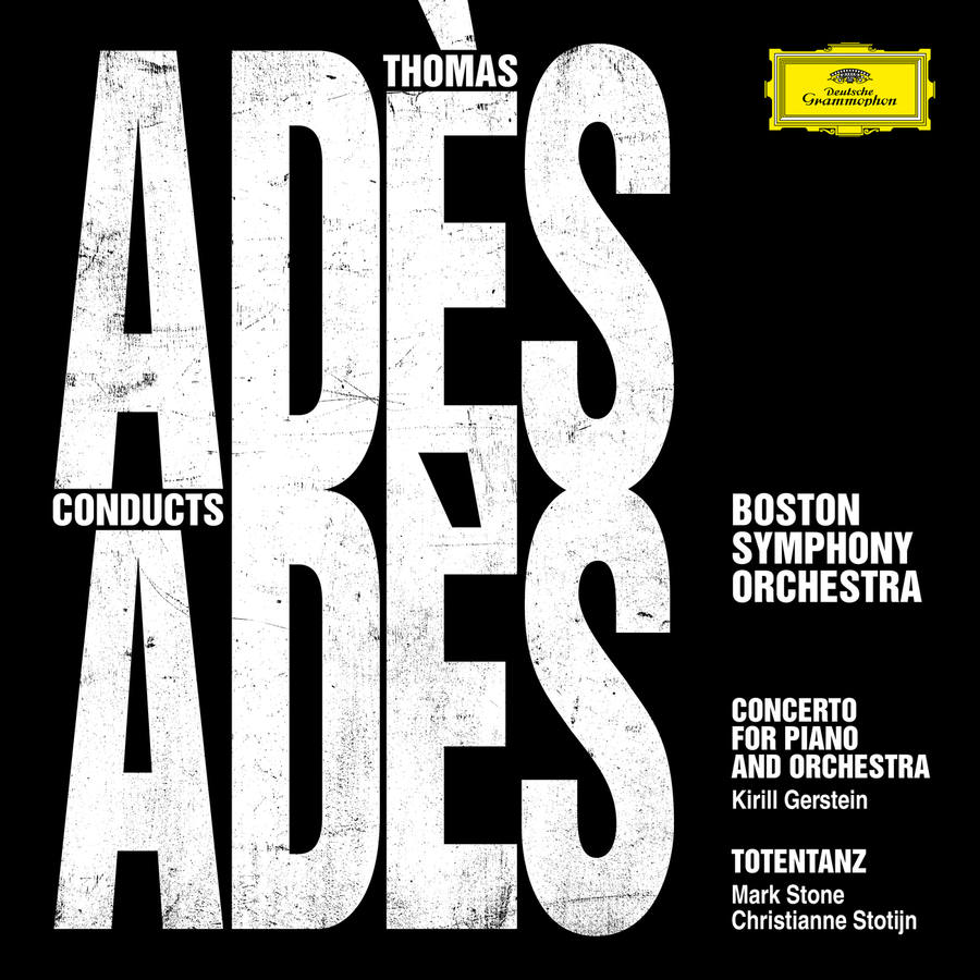 Adès conducts Adès record sleeve