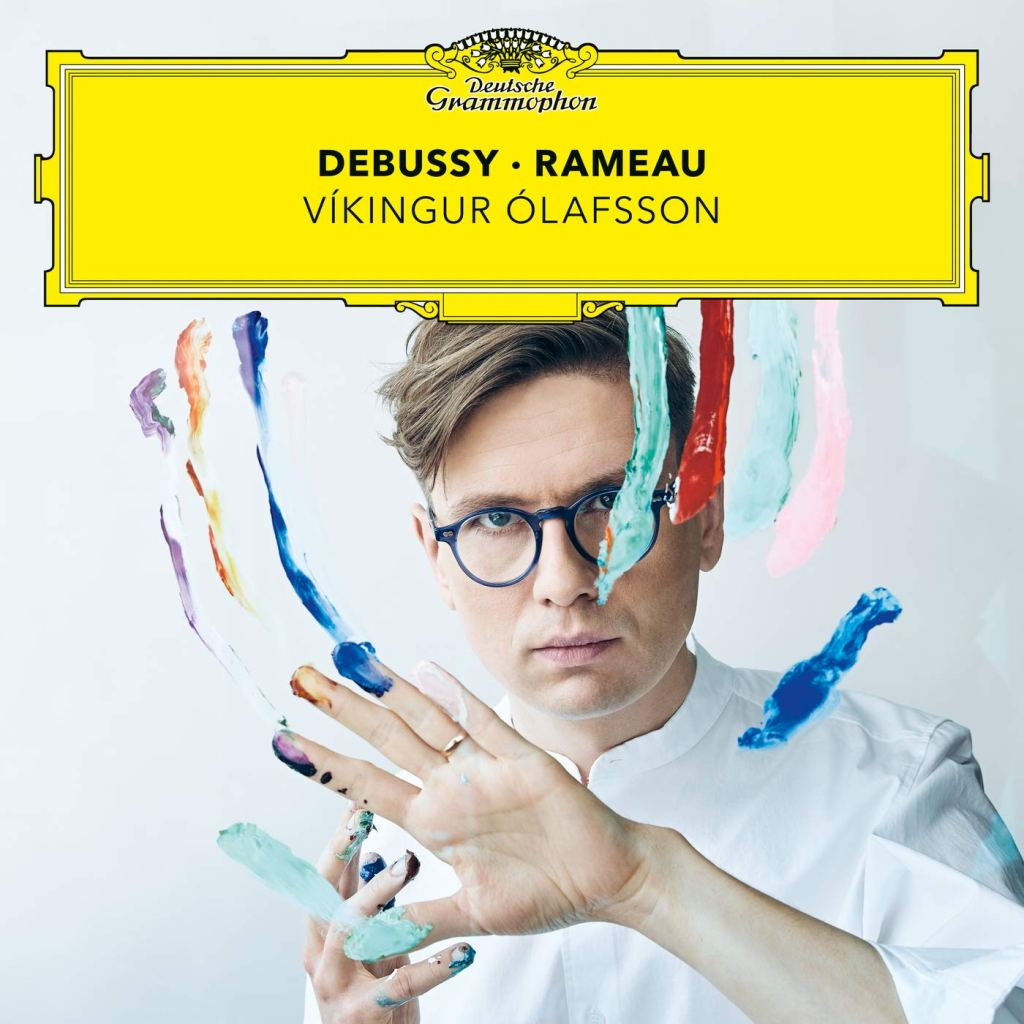 Debussy - Rameau record sleeve