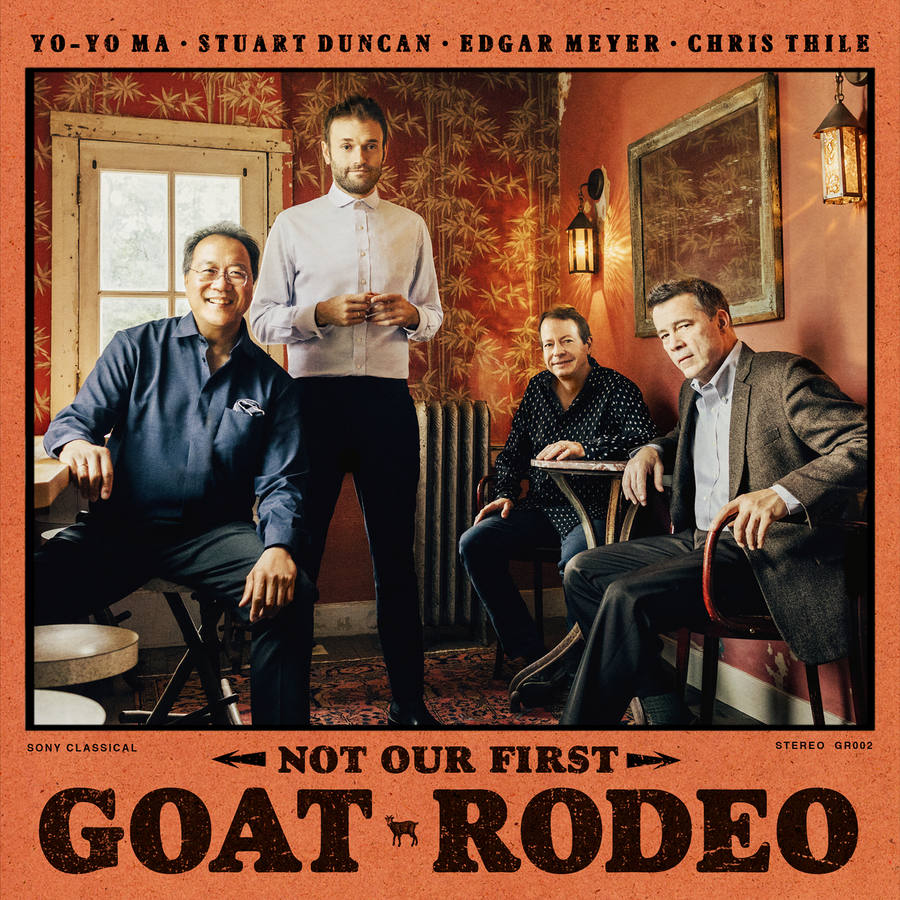 Not Our First Goat Rodeo record sleeve